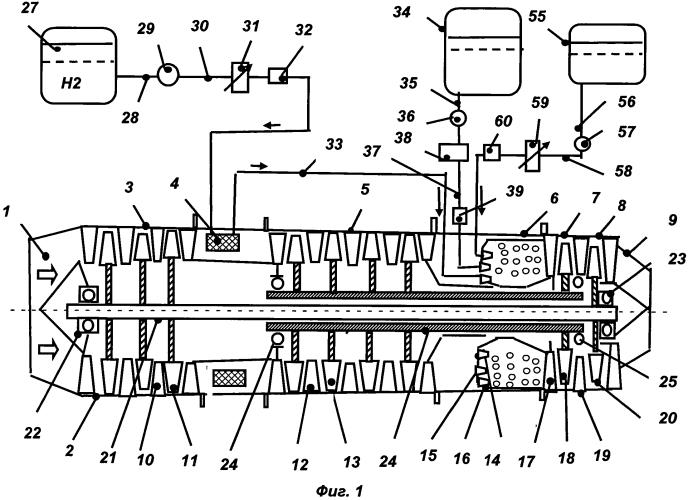 Трехкомпонентный воздушно-реактивный двигатель