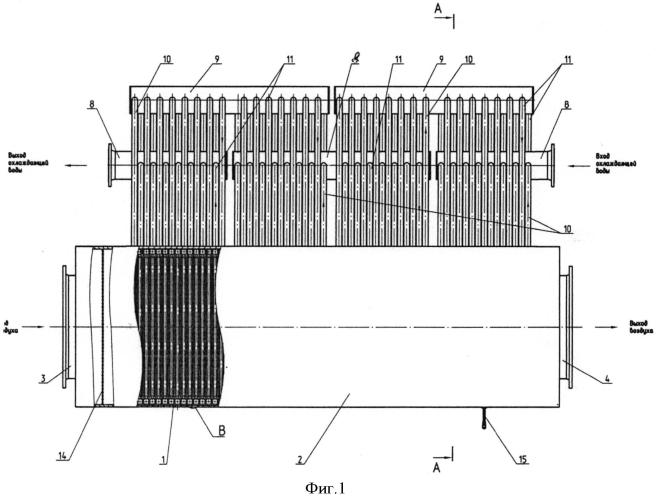 Теплообменный аппарат воздушного охлаждения