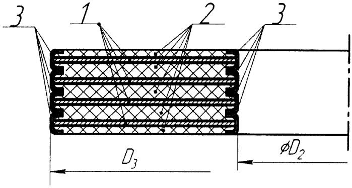 Уплотнение главного разъема насосного агрегата энергетических ядерных установок