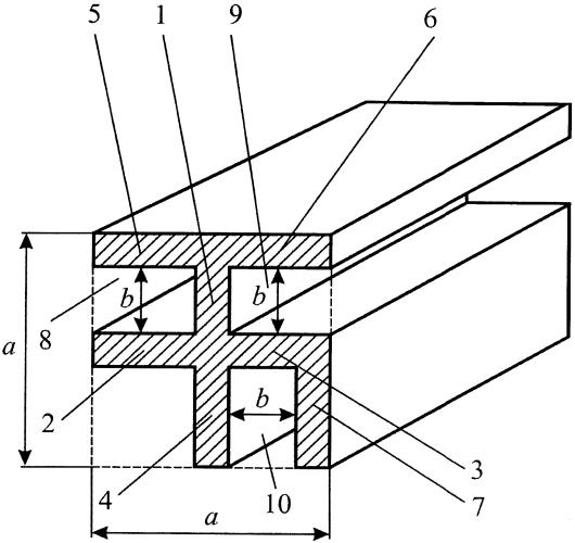 Металлический профиль быстросборных конструкций