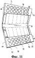 Упаковка, содержащая поддающуюся повторному закрытию застежку на клеевой основе, и способы ее формирования