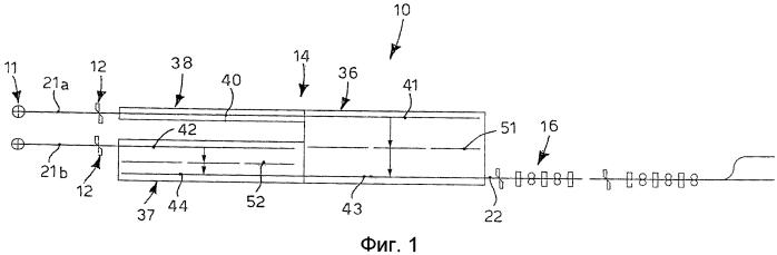 Устройство и способ для поддержания температуры и возможного нагрева длинномерных металлических изделий