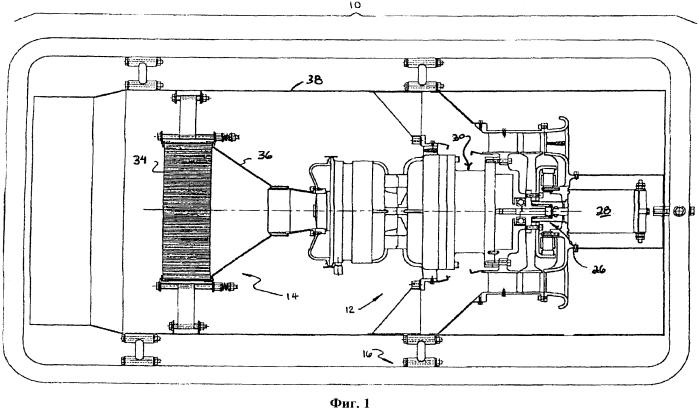 Камера сгорания микротурбинной установки