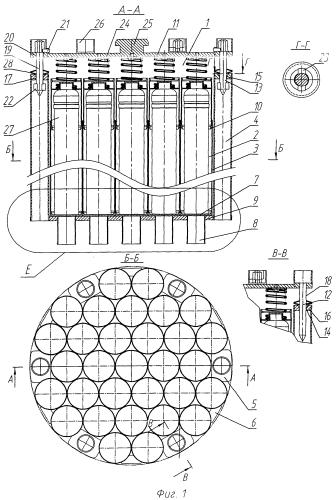 Герметичный пенал хранения отработавшего ядерного топлива реактора рбмк-1000