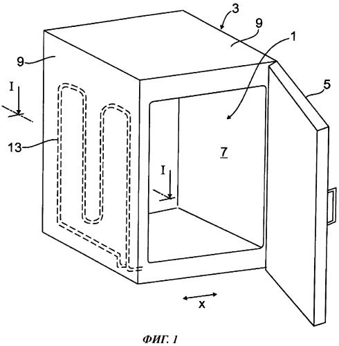 Холодильный аппарат, в частности, бытовой холодильный аппарат