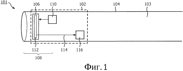Устройство для мониторинга положения дистального конца трубки относительно кровеносного сосуда