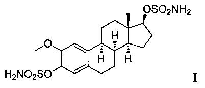 Рацемический 2,17β-дисульфамоилокси-3-метокси-8α-эстра-1,3,5(10)-триен в качестве ингибитора пролиферации опухолевых клеток mcf-7