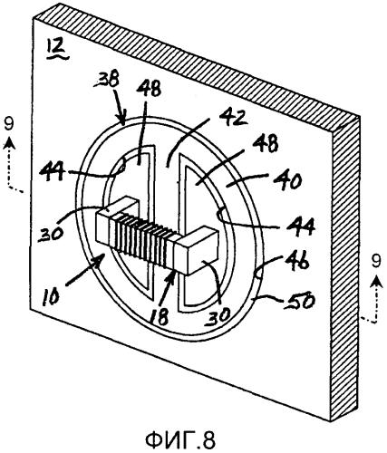 Способ модификации барьера в системе индукционной передачи энергии и/или данных для улучшения эффективности передачи энергии