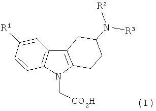 Производные 3-(гетероариламино)-1,2,3,4-тетрагидро-9н-карбазола и их применение в качестве модуляторов рецепторов простагландина d2