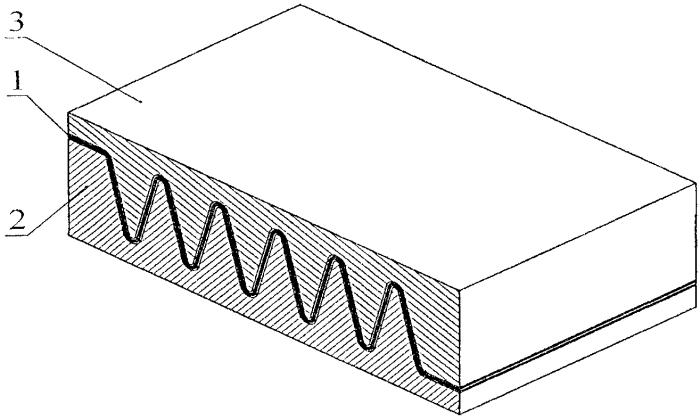 Способ изготовления гофрированного листа для теплообменника из композиционных материалов