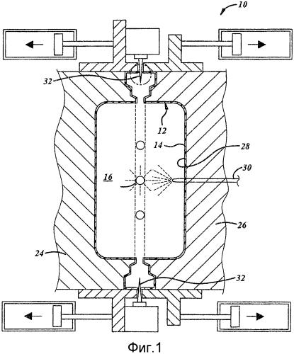 Конструкция крепления компонентов
