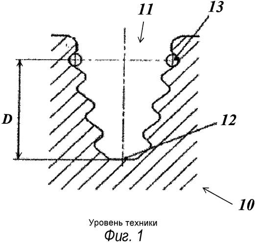 Способ измерения геометрических деформаций компонента турбины