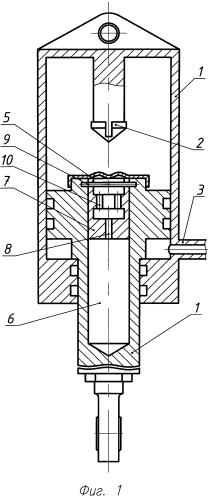 Силовой цилиндр с демпфером