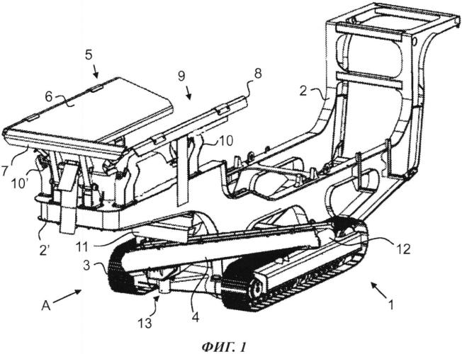 Подвижное устройство для обработки минерального материала
