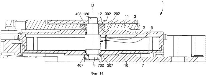 Ходовой механизм часов, имеющий обойму с уменьшенным диаметром сердечника