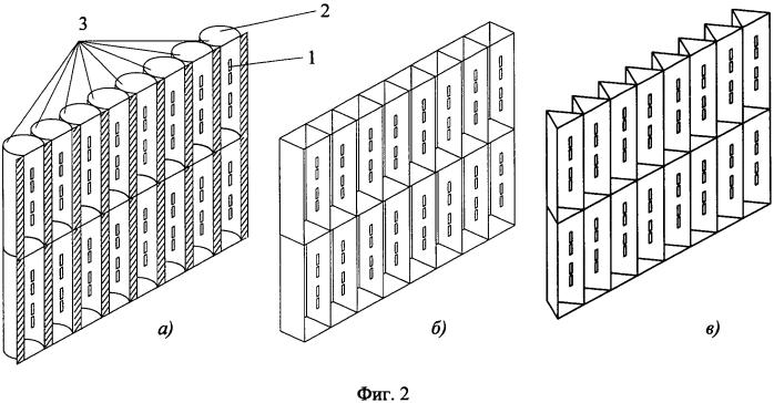 Узконаправленная антенна увч-квч диапазонов на основе объемного рефлектора