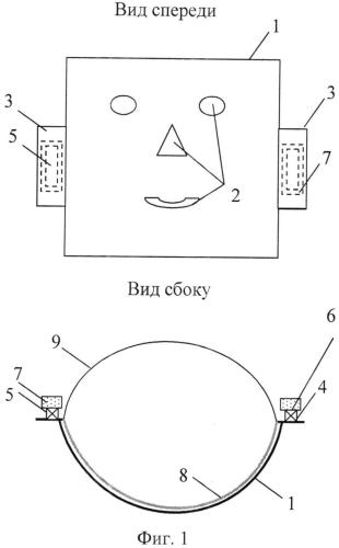 Термоэлектрическое устройство для косметологических процедур на лицо человека