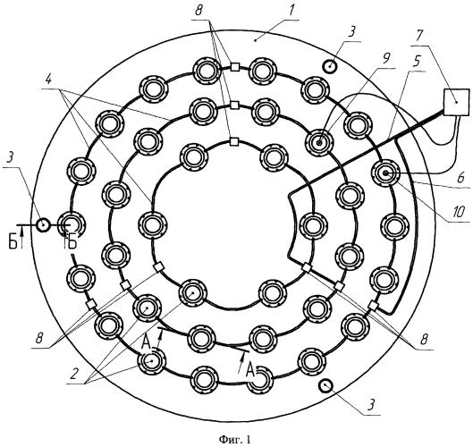 Устройство для разгрузки и способ разгрузки крупногабаритных зеркал телескопов