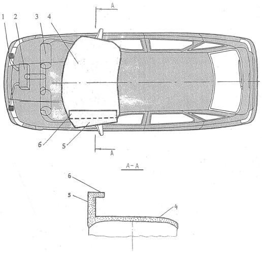 Система пассивной безопасности легкового автомобиля