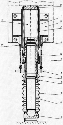 Гидродомкрат с функцией винтовой опоры