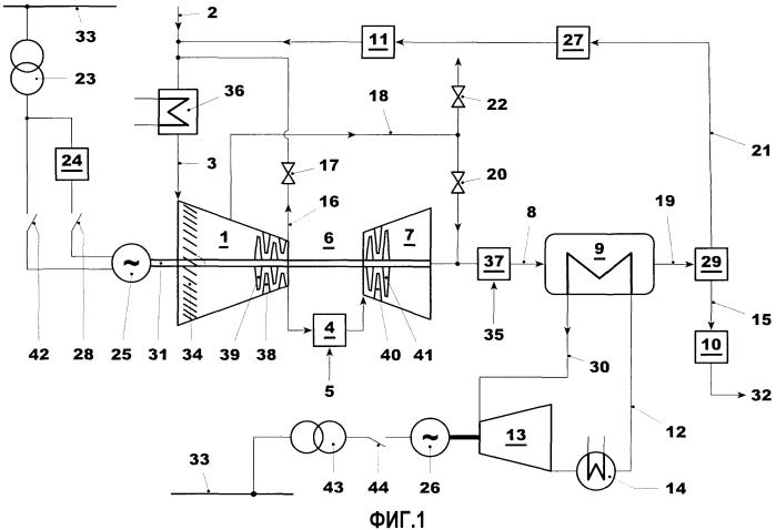 Способ работы энергоустановки в резервном режиме (варианты) и энергоустановка