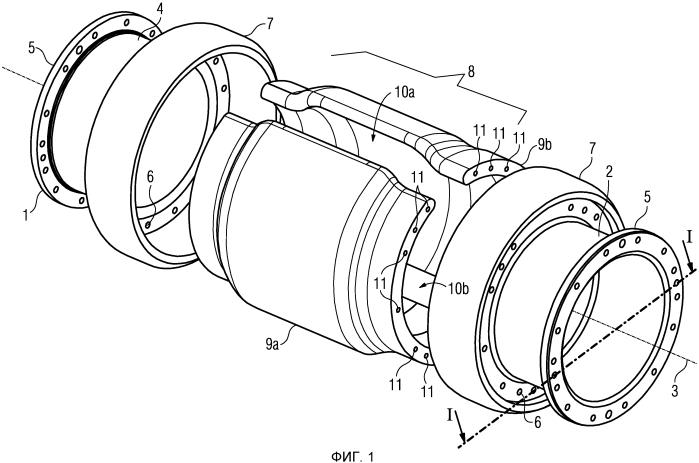 Дугогасительная камера для силового выключателя, а также силовой выключатель с дугогасительной камерой