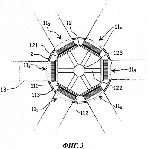 Устройство для регистрации фотонов и ионизирующих частиц с одновременным определением, для каждого фотона или ионизирующей частицы, направления движения в канале, заполненном текучей средой