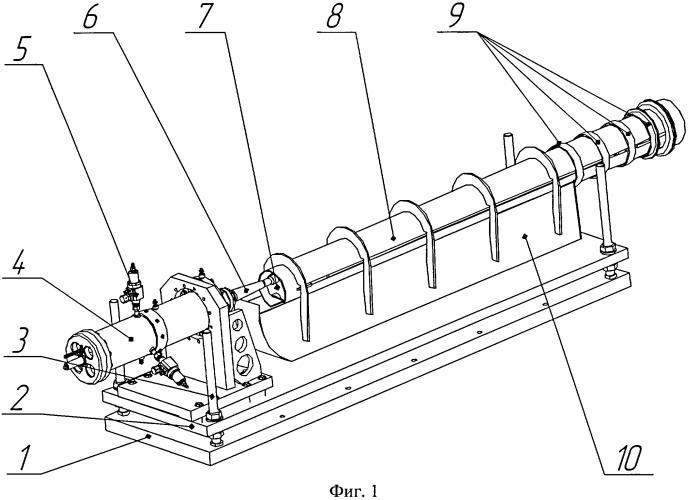 Пневмогидравлическое устройство для заброса тушек птиц и других предметов при испытаниях летательных аппаратов