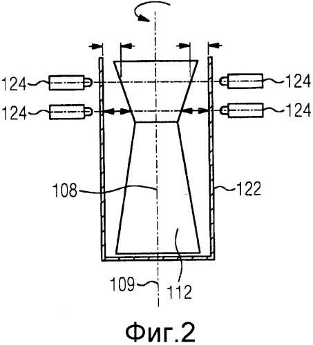 Способ определения диаметра оснащенного рабочими лопатками ротора лопаточной машины