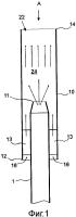 Способ и устройство в пневматической системе конвейерной транспортировки материала