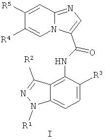 Соединения замещенного n-(1н-индазол-4-ил)имидазол[1,2-a]пиридин-3-карбоксамида как ингибиторы cfms