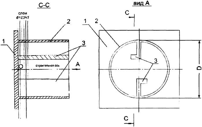 Способ изготовления многослойной монококовой конструкции в виде единой непрерывной оболочки