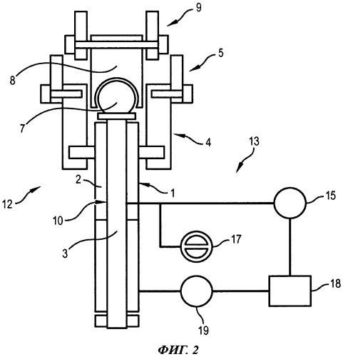 Устройство обнаружения повреждения основного тракта в рулевом приводе