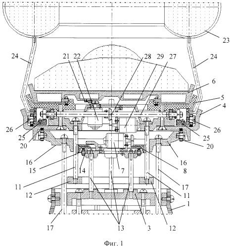 Функциональная структура возвратно-поступательного разворота медицинского стола с тороидальной хирургической робототехнической системой (вариант русской логики - версия 4)