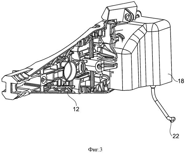 Модуль дверной ручки для автомобиля