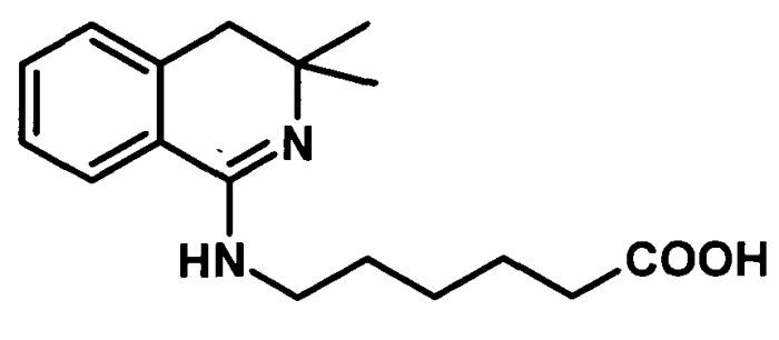Способ получения n-(3,3-диметил-3,4-дигидроизохинолил-1)-6-аминокапроновой кислоты