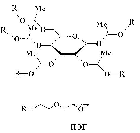 Способ получения пентаглицидилового эфира глюкозы и композиция на его основе для химической сшивки коллагенсодержащих эндопротезов биологического происхождения