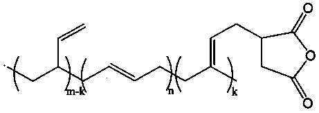 Способ получения малеинизированных 1,2-полибутадиенов