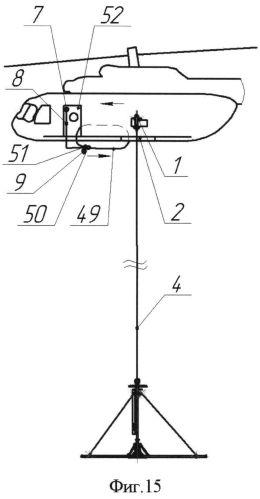 Спасательная система с внешней подвеской к летательному аппарату