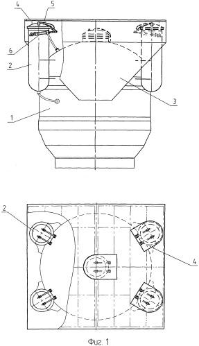 Комплекс спасательный для спасения личного состава аварийной атомной подводной лодки