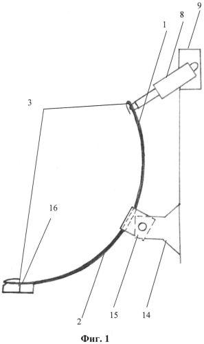 Корректор сцепного веса колёсного трактора полурамного типа