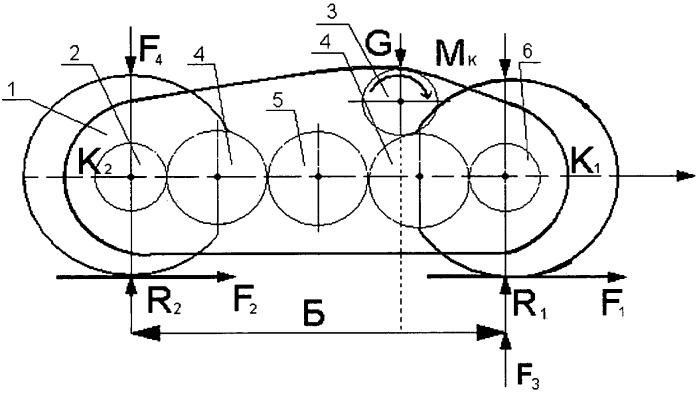 Несимметричный балансирный привод ведущих колес автогрейдера