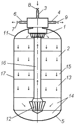 Модуль сорбционной очистки жидкой среды