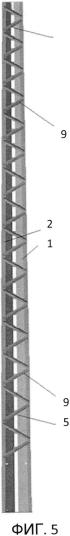 Длинномерная несущая стойка линии электропередачи