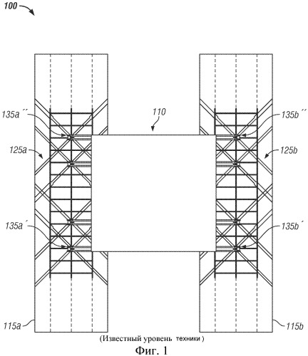 Способ разъемного соединения верхнего строения с баржой и система, применяемая при этом