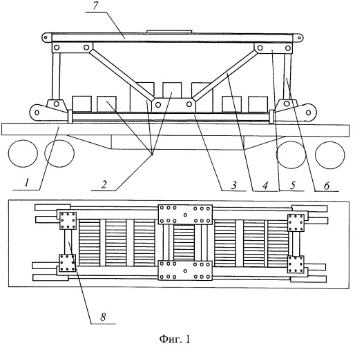 Способ блочной транспортировки и сборки железнодорожного крана срк-50