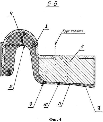 Тормозная колодка тягового подвижного состава