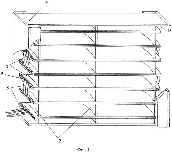 Способ защиты воздухозаборных решеток с жалюзи от обледенения и устройство для его осуществления