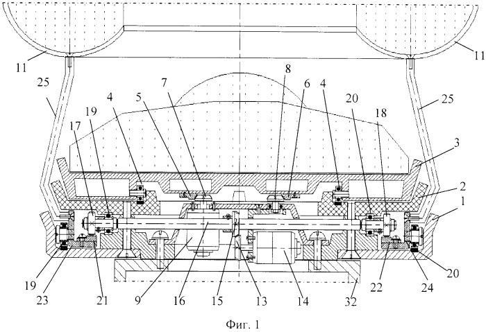 Функциональная структура корректирующего возвратно-поступательного продольного перемещения тороидальной робототехнической системы вдоль хирургического стола для выполнения конкретной медицинской процедуры (вариант русской логики)