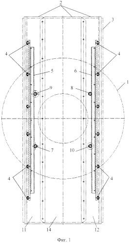 Функциональная структура возвратно-поступательного продольного перемещения верхней части медицинского стола в тороидальной робототехнической системе с выдвижной крышкой (вариант русской логики)